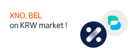 [상장/이벤트] 제노토큰(XNO), 벨라프로토콜(BEL) 원화 마켓 추가 및 이벤트 안내